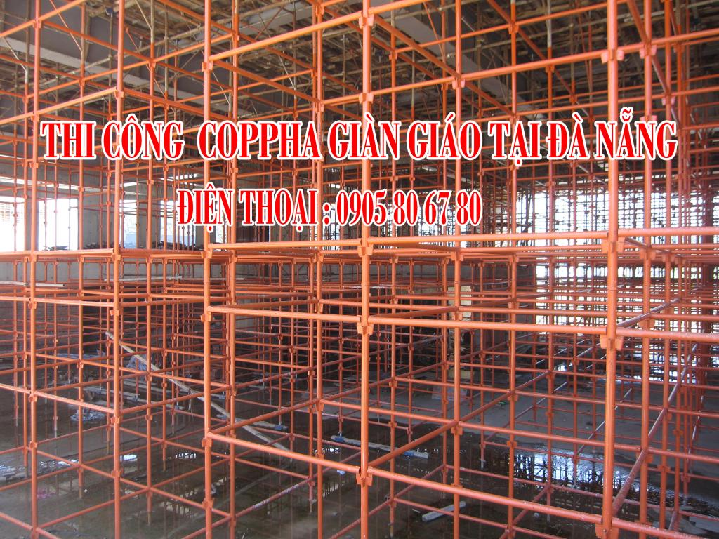 Giàn Giáo Nêm - Chuyên cho thuê Giàn Giáo tại Đà Nẵng
